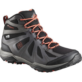 Columbia Peakfreak XCRSN II XCEL Mid Outdry Shoes Women Black/Red Canyon